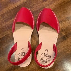 Spanish sandal